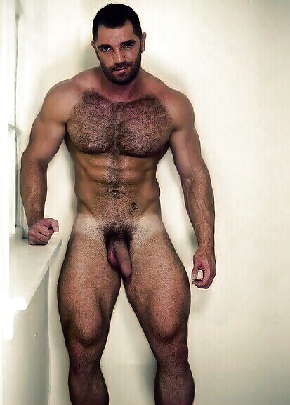 Dvd hairy male man muscle naked — pic 15