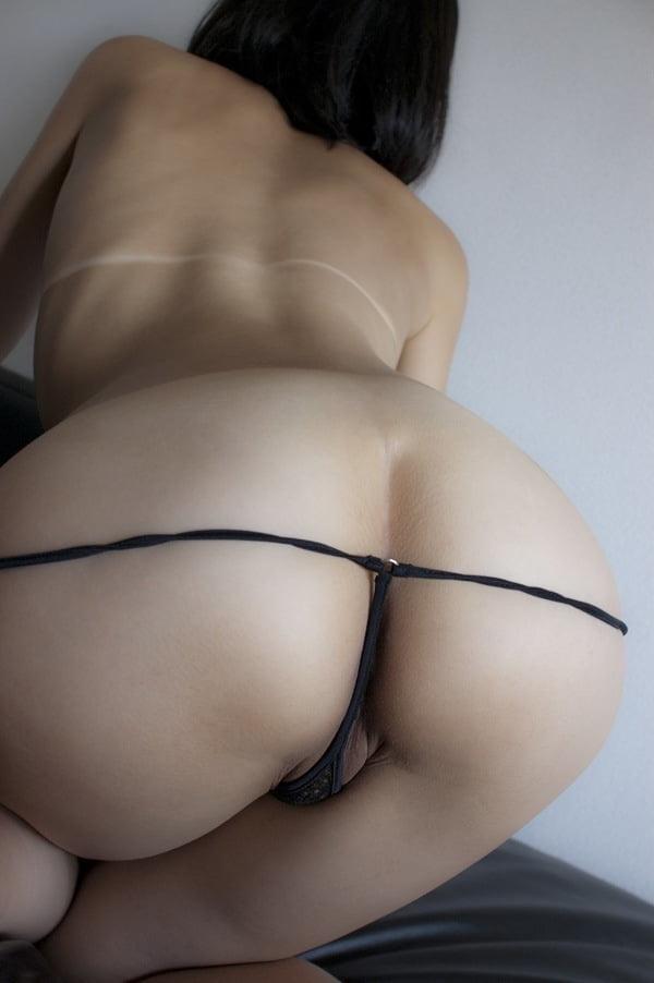 Asian in thong having sex — 12