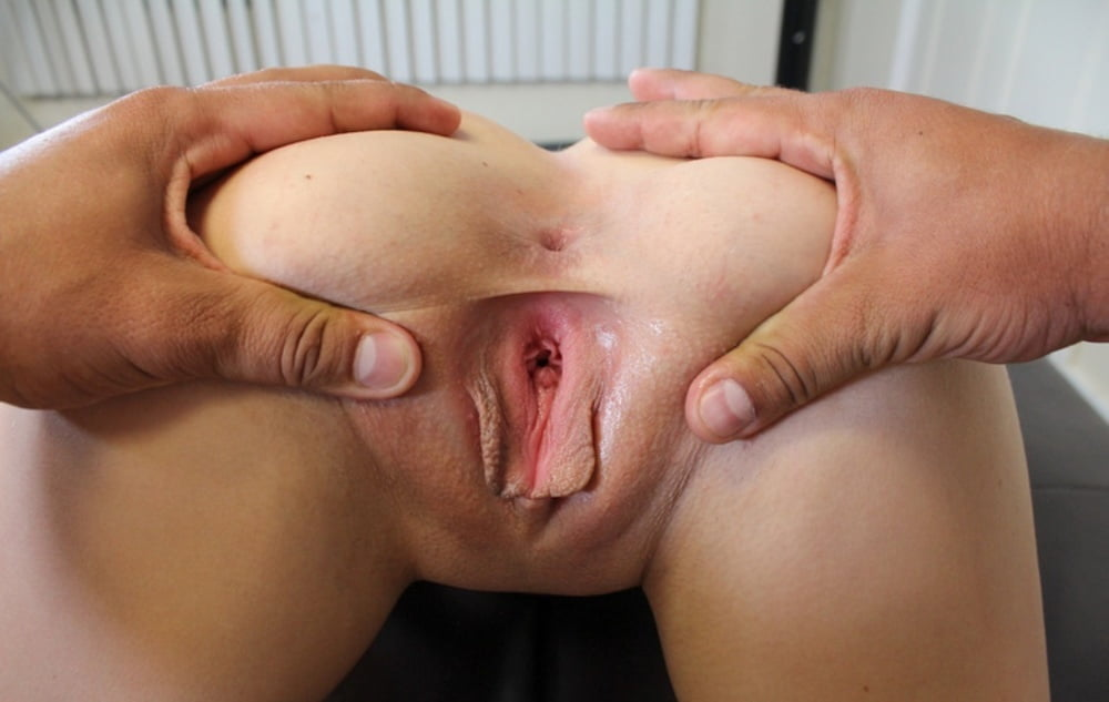 Tight naked open vagina #9