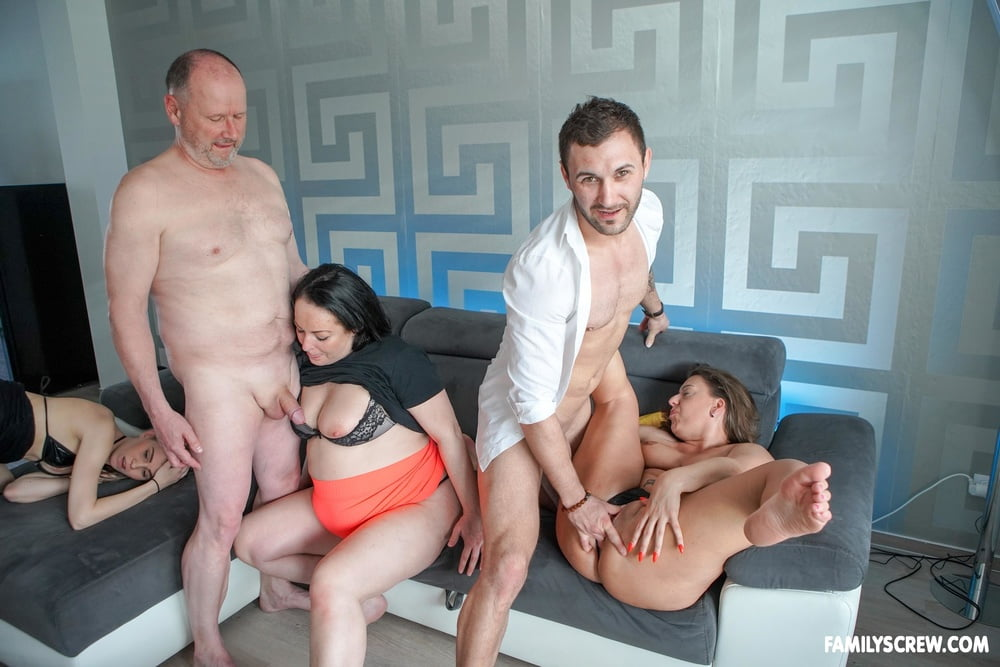 Building an Empire at FamilyScrew - 9 Pics