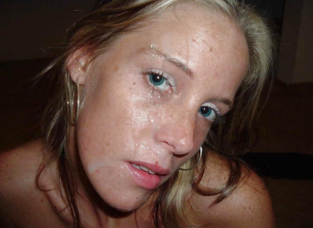 лица девушек в сперме любительские фотографии она рождена