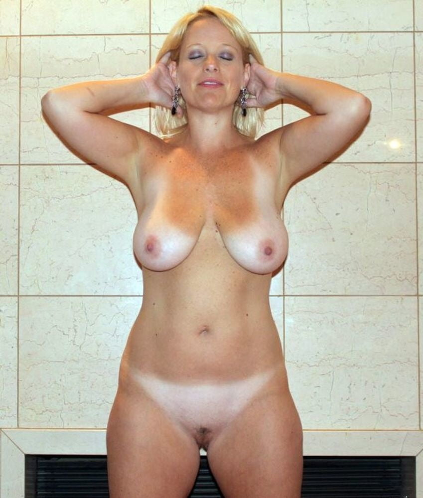 Mature nude tan lines-8575