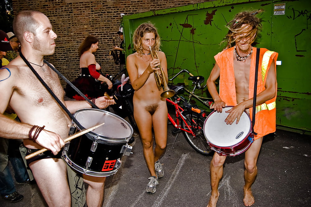 Naked womans band