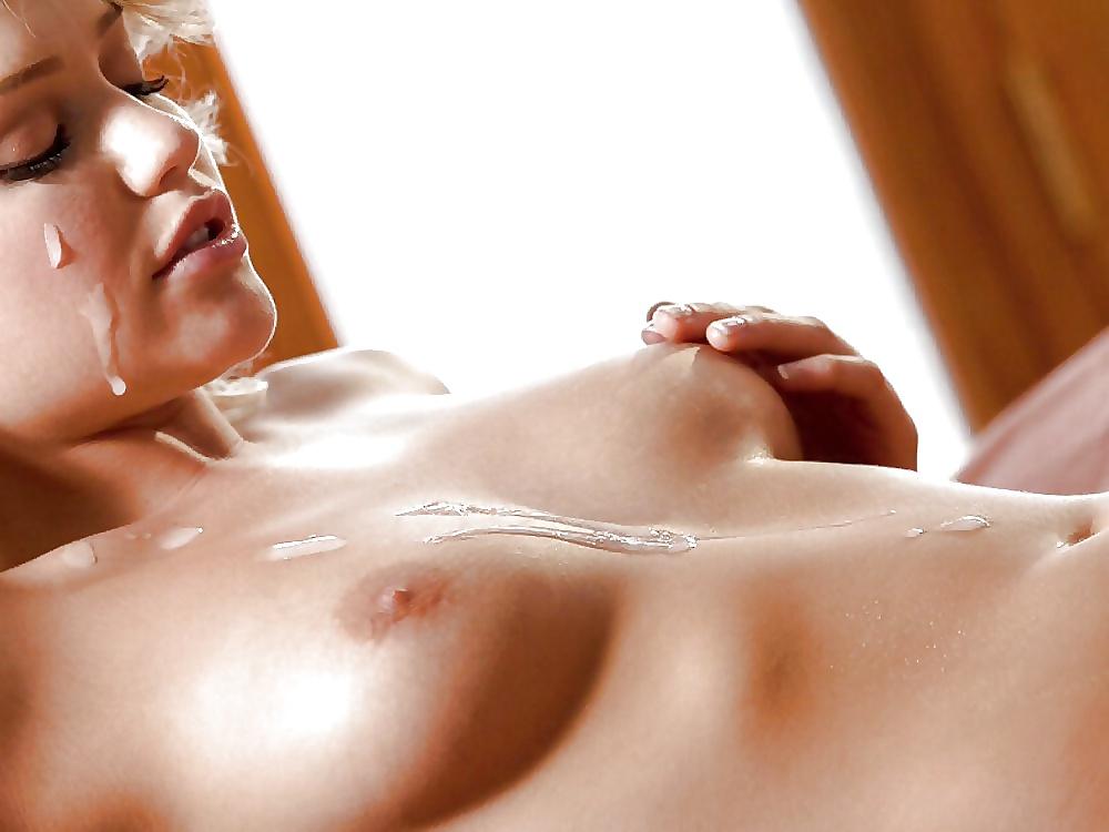Эротические фото французских девок в сперме — 12