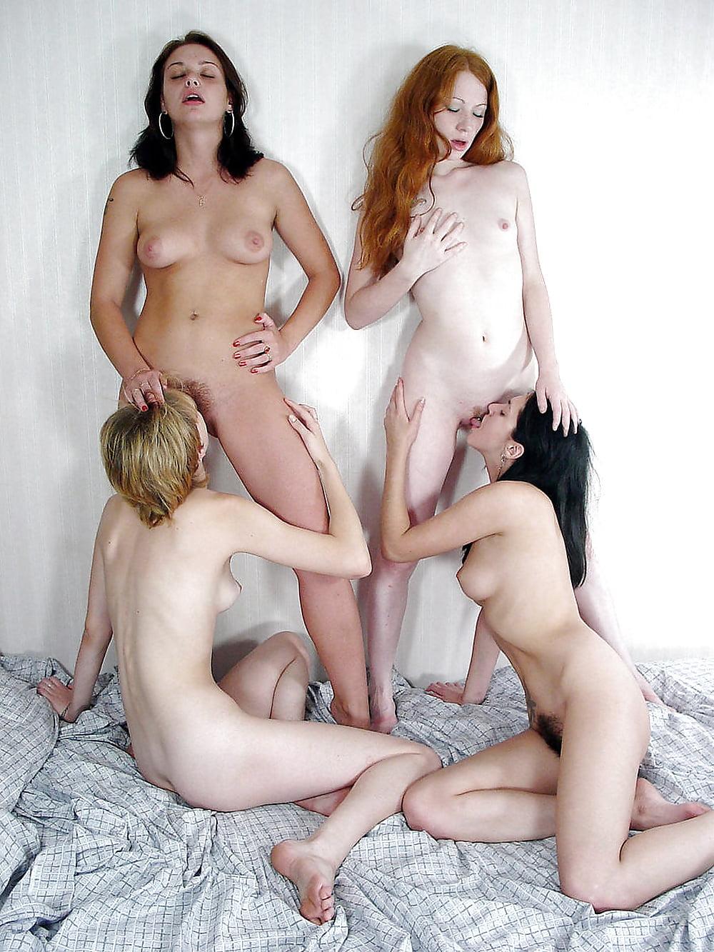 русские лесбиянки куражат большой