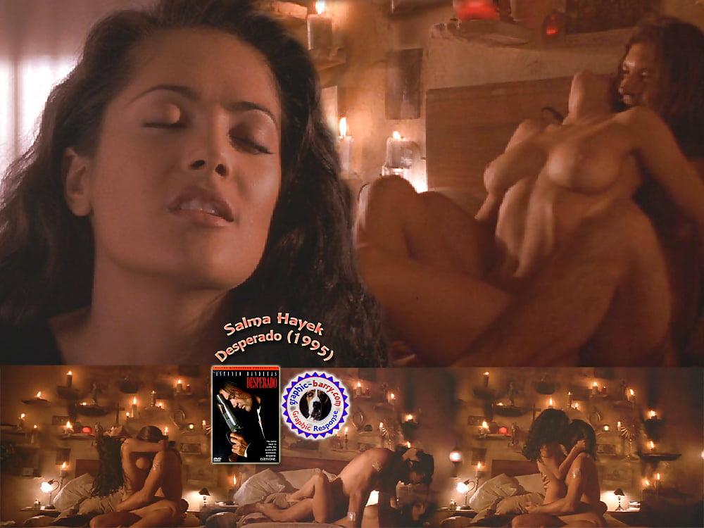 Fake salma hayek nude shower