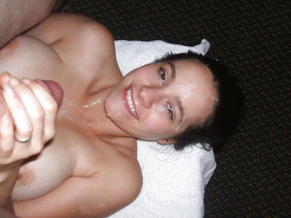 Huge Tits Handjob In Car
