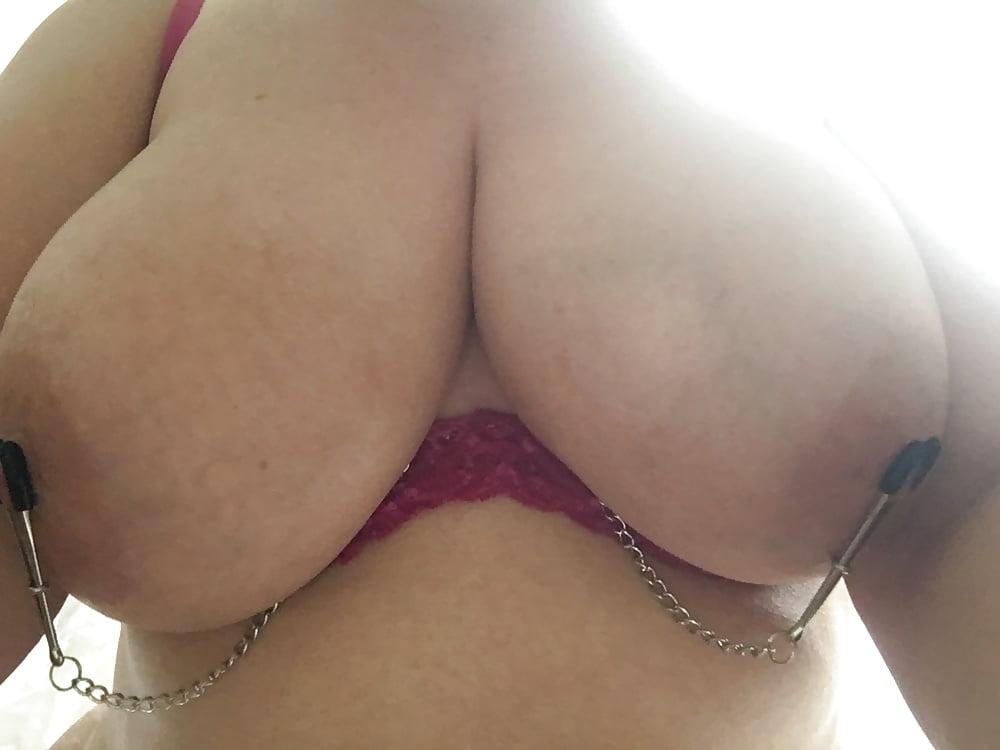 nipples clamped under bra pics xhamster com