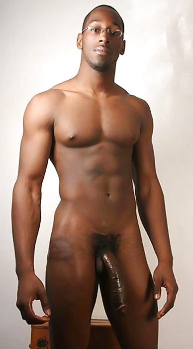 Sexy Nude Black Hunks