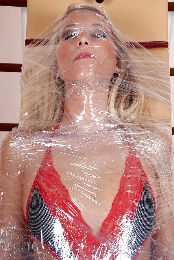 Plastic wrap gay pics