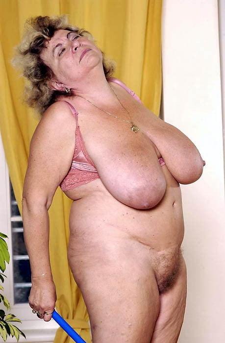 Old Granny Big Boob