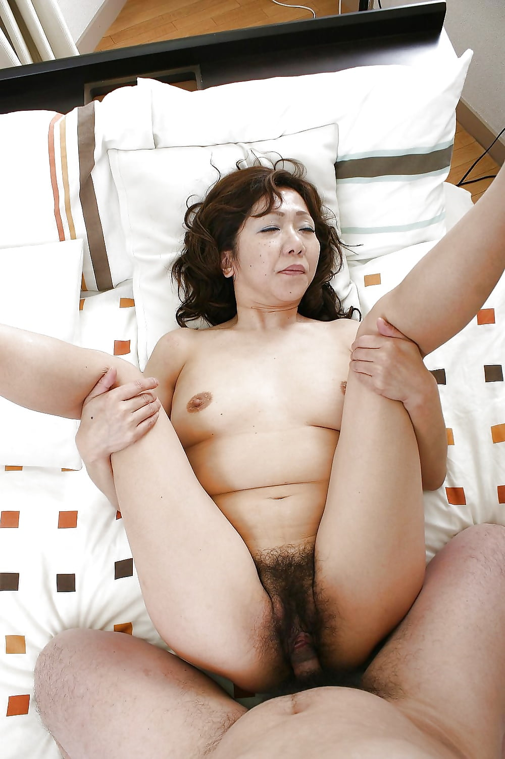 Asian granny getting fucked — 7