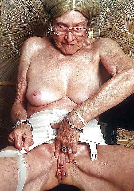 Old granny big clit and nipples
