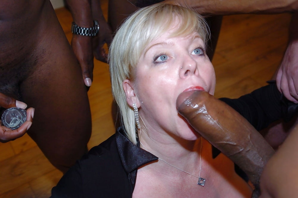 Mature slut is greedy for cocks
