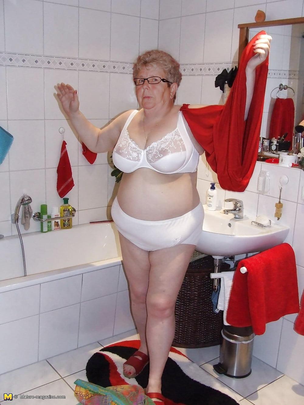 Фото зрелых жирных