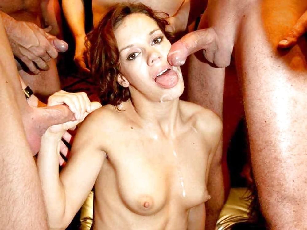Kinky German Creampie Gangbang Party With Cum Swallow Milfs