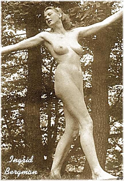 Anna Bergman's Nude Scenes