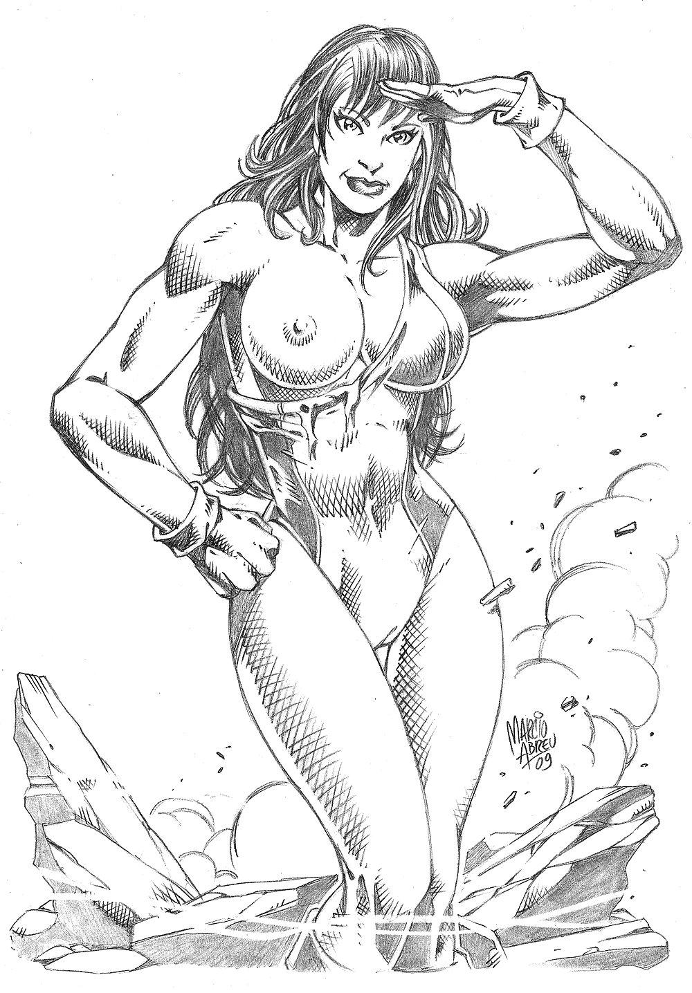 Marvel Girls Porn Pics