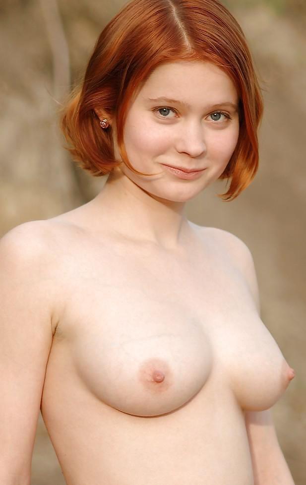 Blonde Teen Nude Freckles Beauty