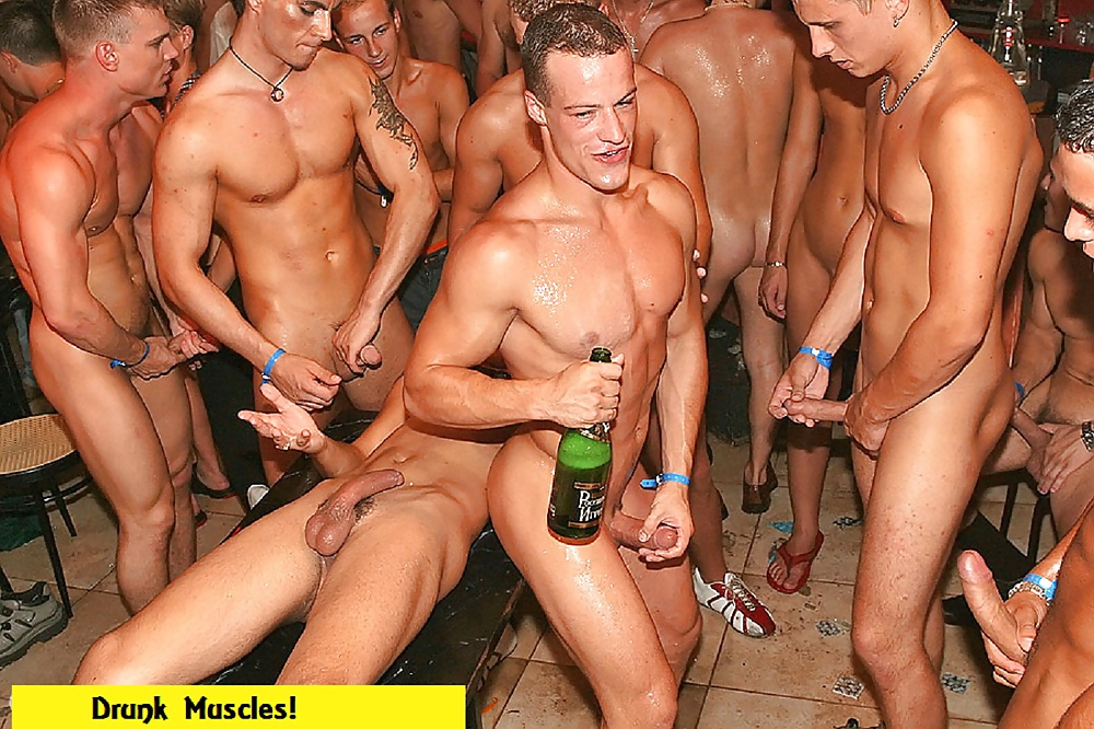 All gay sex party