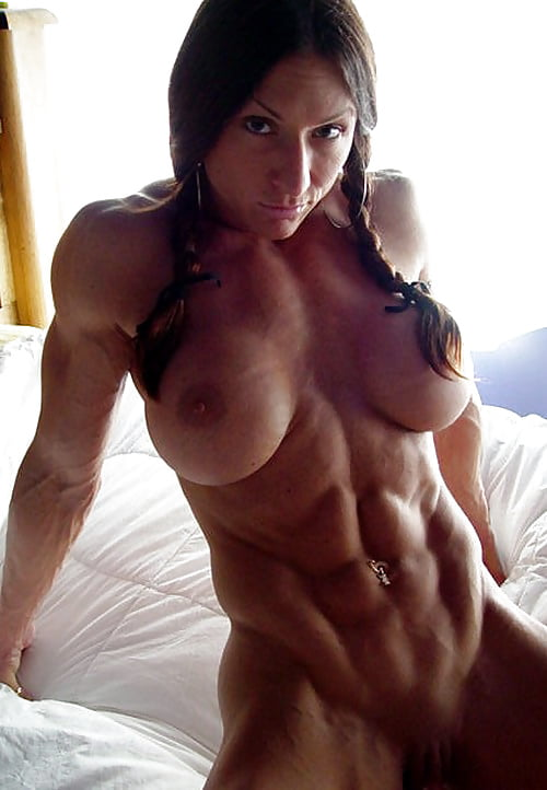Female pornstar with abs