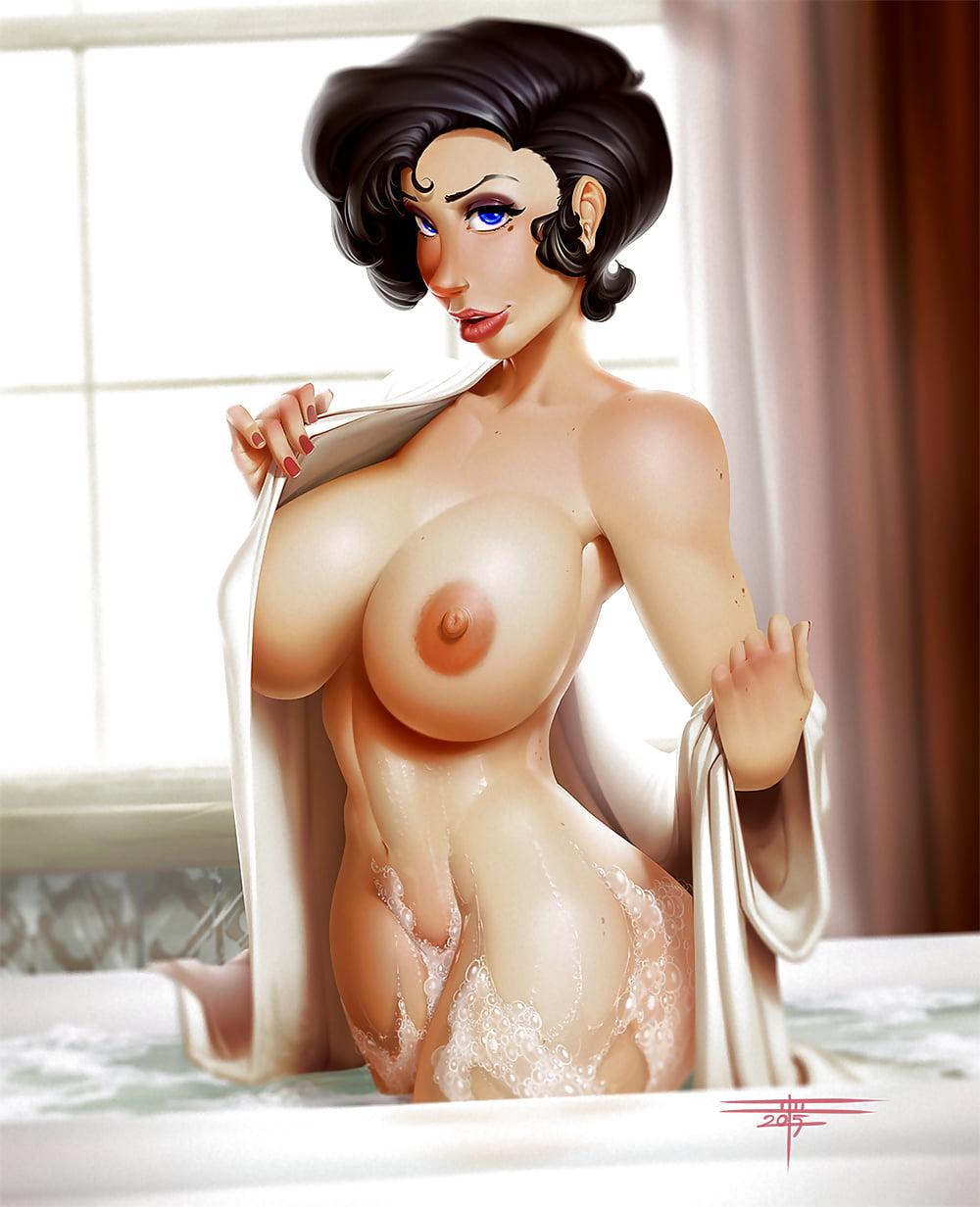 Sexy toon boobs