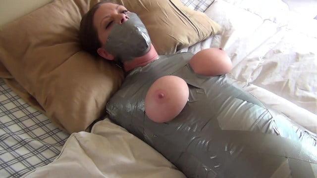 Duct tape bondage tube
