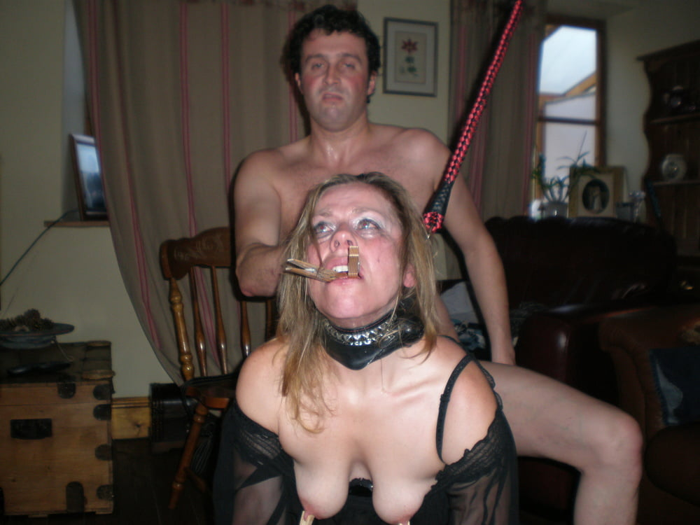 Cuckold slut abused by her Master