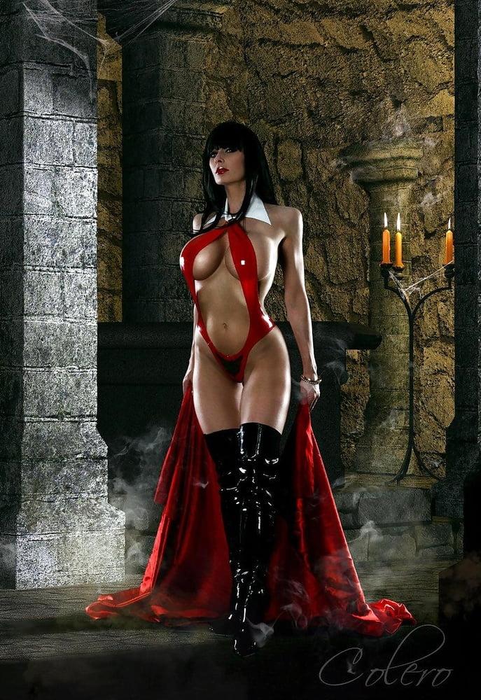 And sexy naked woman vampire teegarden bikini