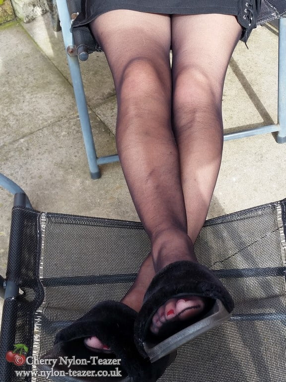 Short Black & Slides - 21 Pics