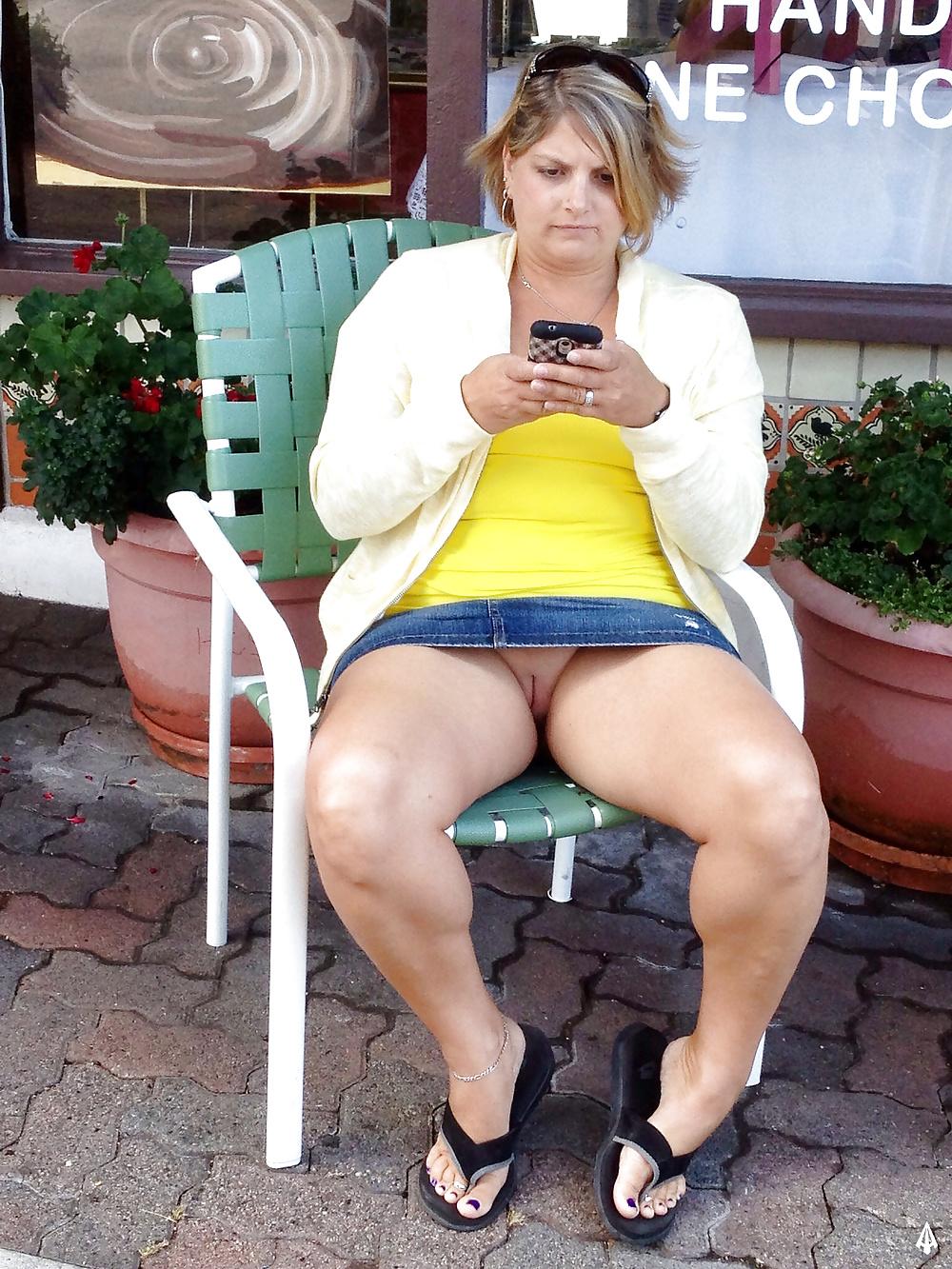 Free Upskirt Fat Pussy Porn