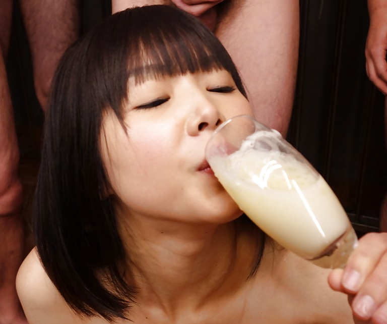 Japanese Cum Mouth Swallow