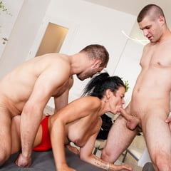 Bisex Dudes Doing Anal And DP
