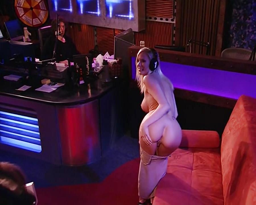 Andrea on howard stern nude