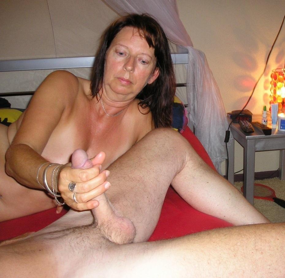 Amateur Mature Wife Hand Job