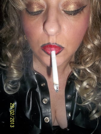 hubby wanted smoking slut wife i gave him a whore