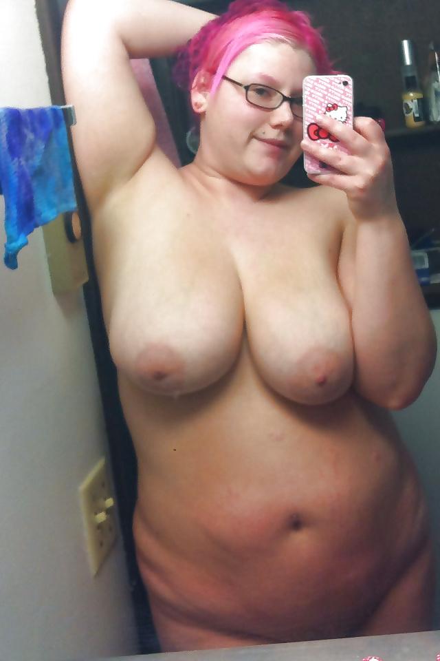 Plump nude self pics
