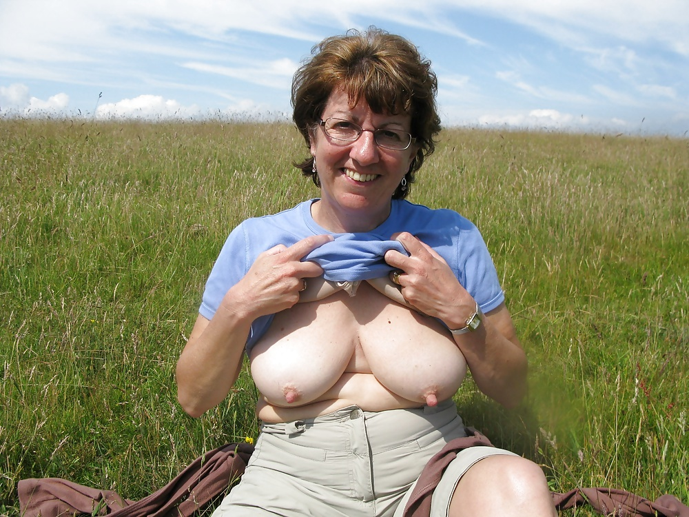 Senior Huge Tits
