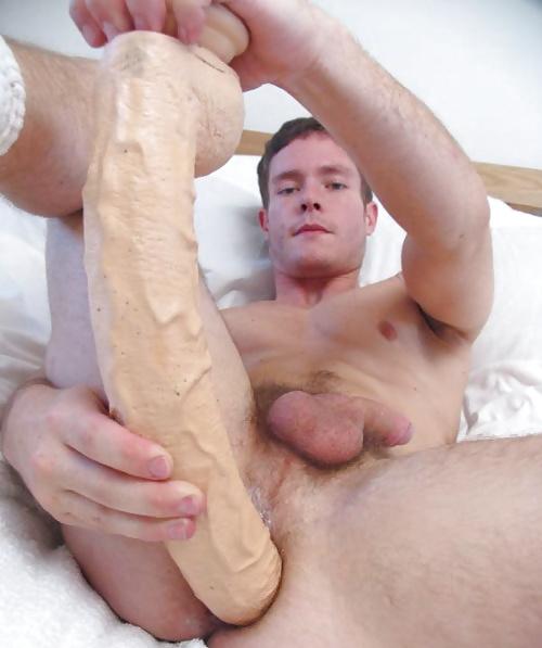 Gay sock dildo