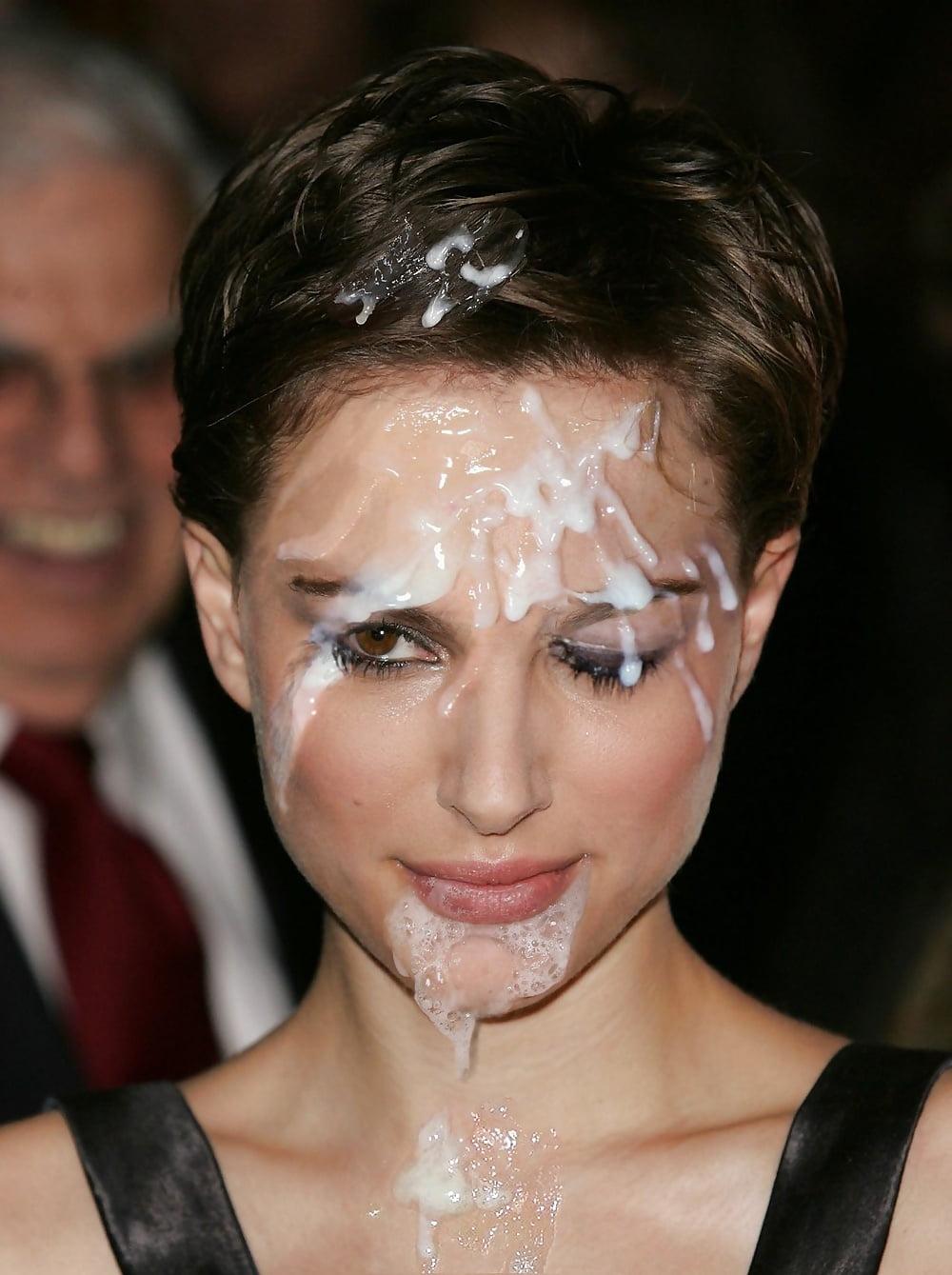 Natalie Nutters Cum Face Wash