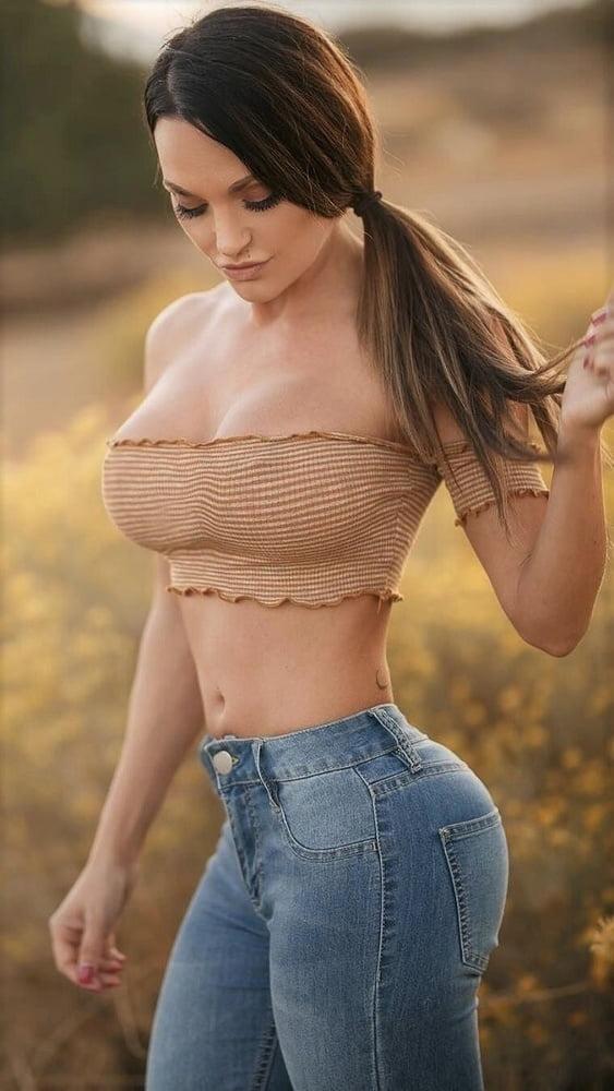 Blue jean boob — 6