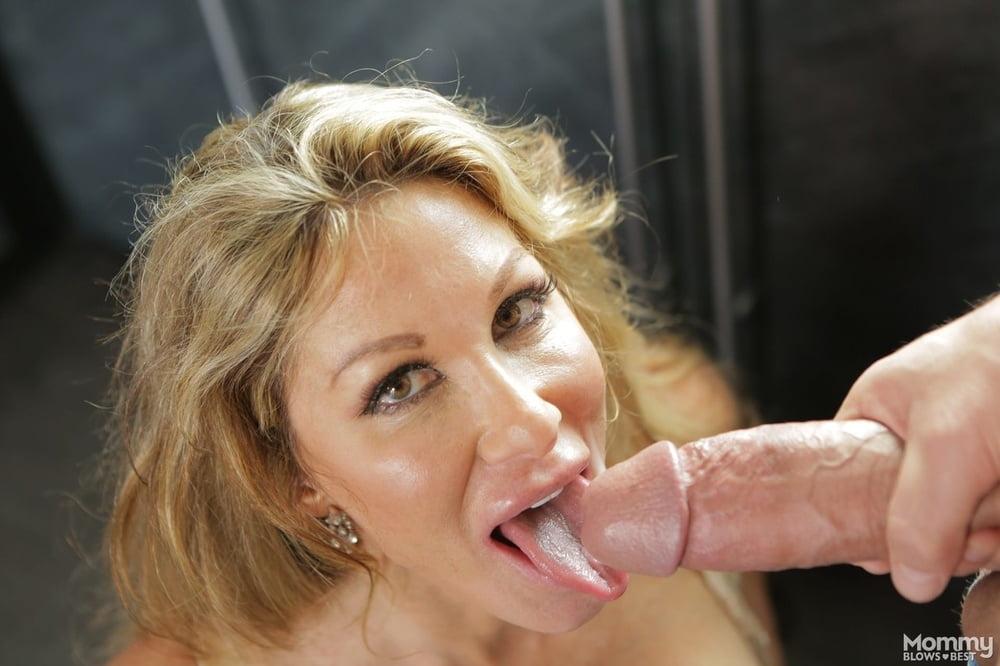 Horny Mom Farrah Dahl Seduces Her Stepson Before Blowing His Big Dick 1