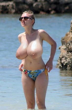 Grosse titten strand