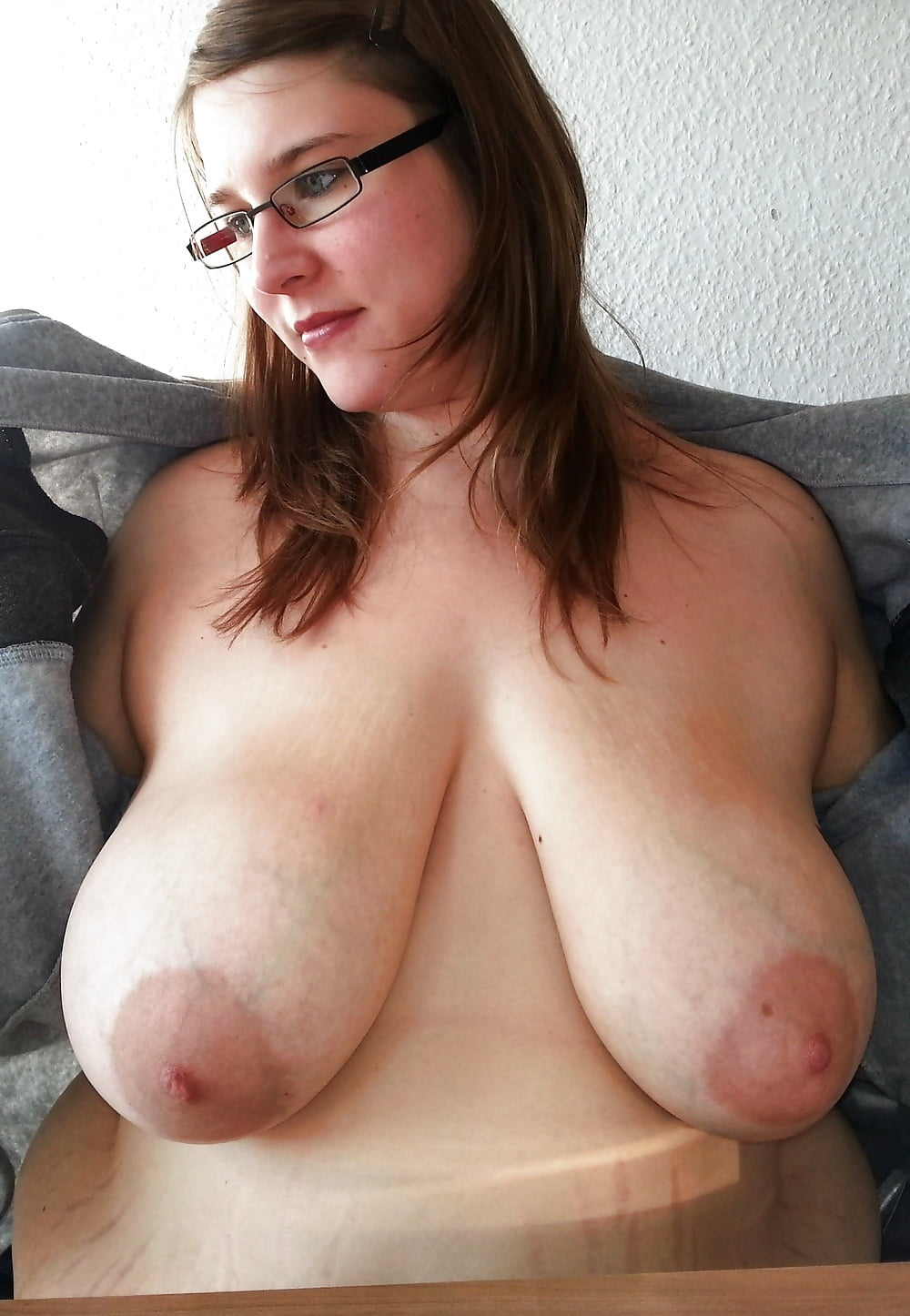 Homemade natural big tits