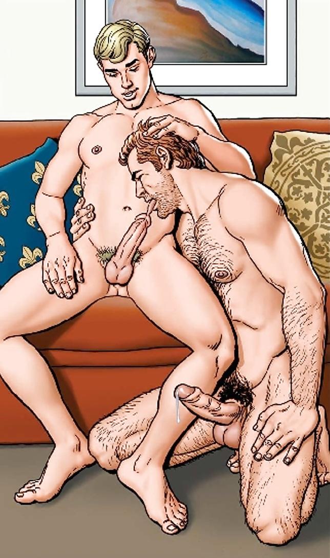 Men posing naked with big cocks