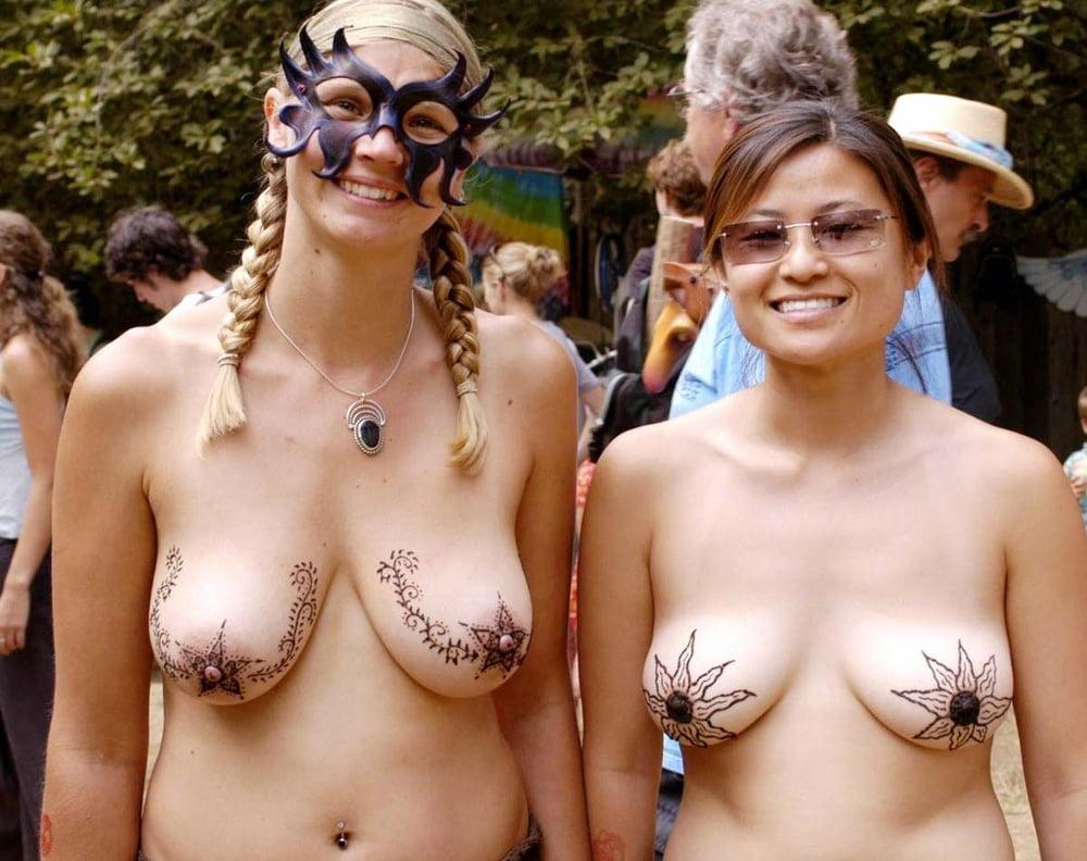 Girl naked oregon country fair