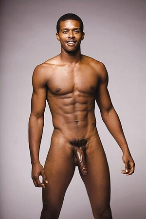 full frontal nude black men