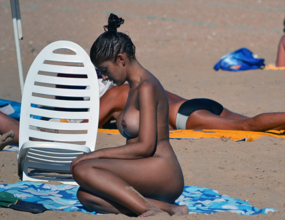 Naked beach sex-5436