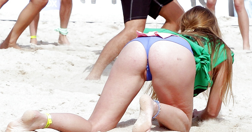 Young volleyball player pussy