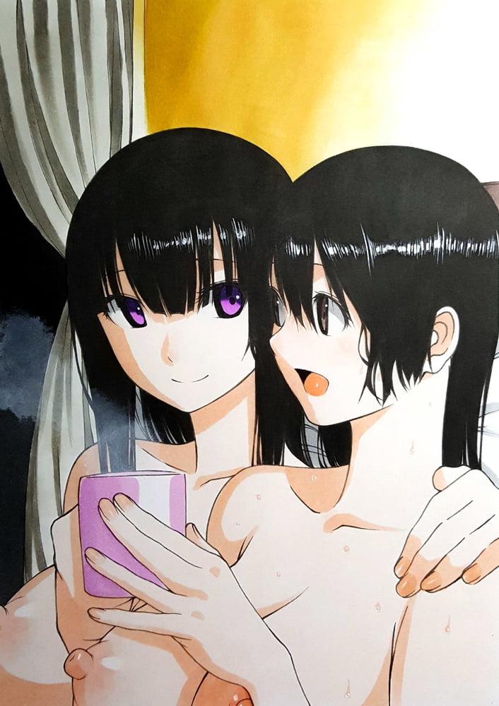 Anime lesbian porn-3659